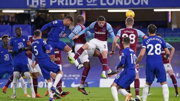 Chelsea beat West Ham with Werner's single goal