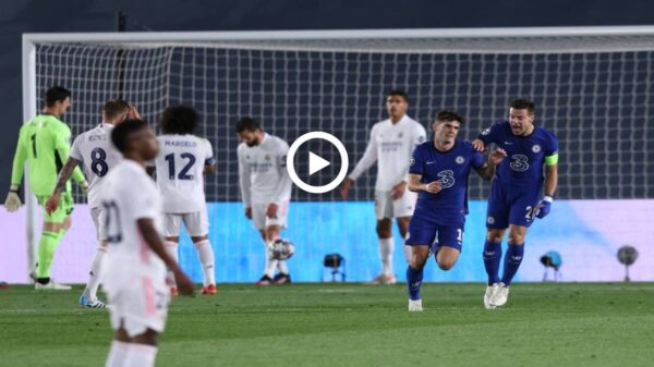 Chelsea vs Real Madrid Champions League semi-finals match highlights