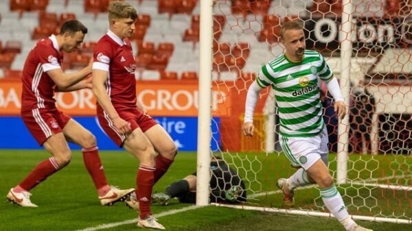 Stephen Glass proud of Celtic players despite Griffiths goal