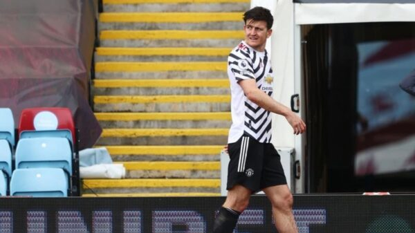Harry Maguire to miss Europa League final