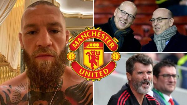 Conor McGregor showed interest in buying Manchester United