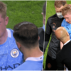 Kevin De Bruyne suffered facial injury