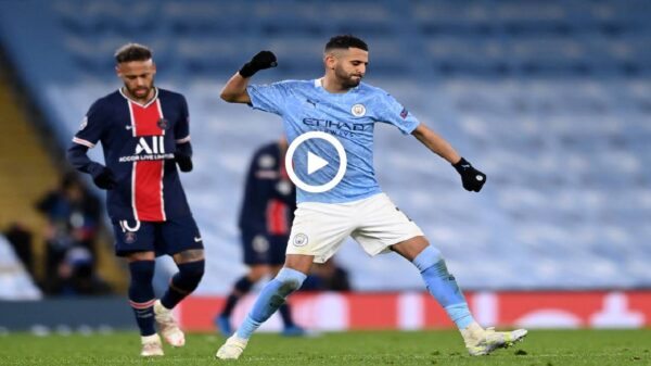 Manchester City vs PSG match highlights