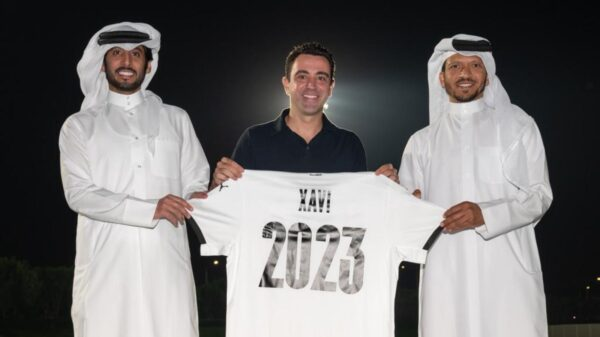 Xavi extended Al-Sadd contract until 2023
