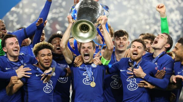 Chelsea are Champions of Europe for second time