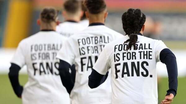 Football players signed petition for an independent regulator in English football