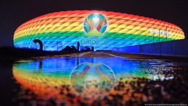 UEFA turns down request to light up Allianz Arena in rainbow colors to support LGBTQ