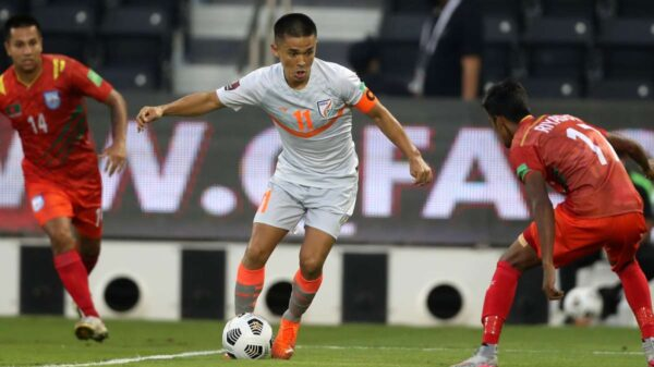 India beat Bangladesh in combined qualifiers of FIFA World Cup 2022 and Asian Cup 2023