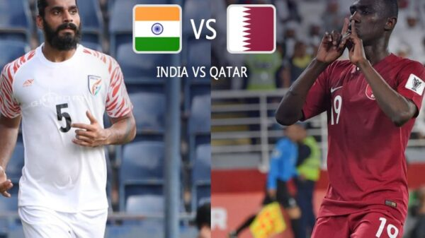 World Cup qualifiers: Indian football team will face Qatar on Thursday