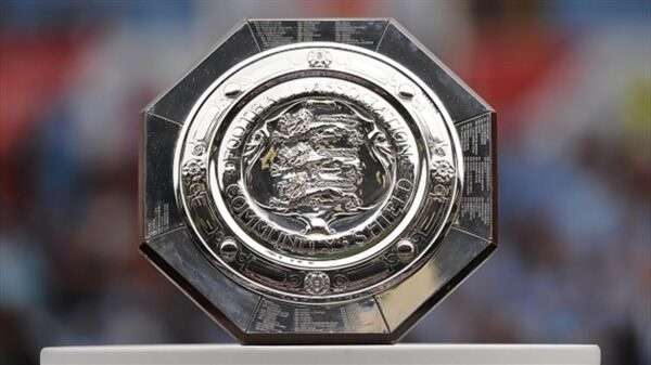 Community Shield confirmed date and time; Man City will face Leicester City at Wembley