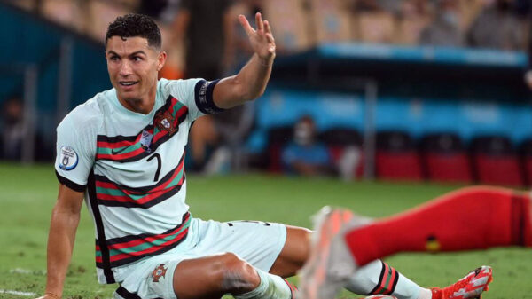 Cristiano Ronaldo disappointed on Portugal's exit from Euro 2020