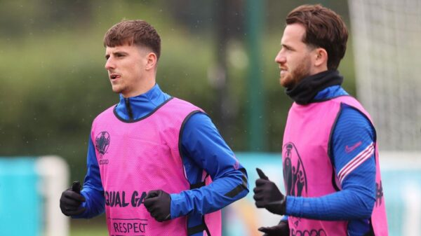 England duo Mount and Chilwell to miss match against Czech republic