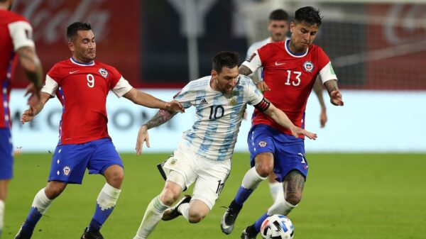 Argentina and Chile played draw in World Cup qualifiers