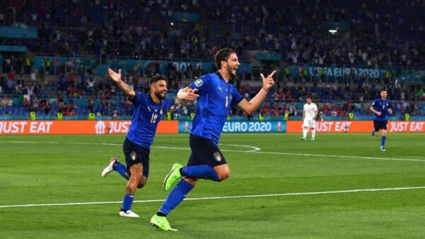Italy defeated Switzerland in Euro 2020 Group A