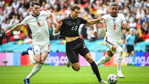 England beat Germany to qualify for Euro 2020 qurter-final