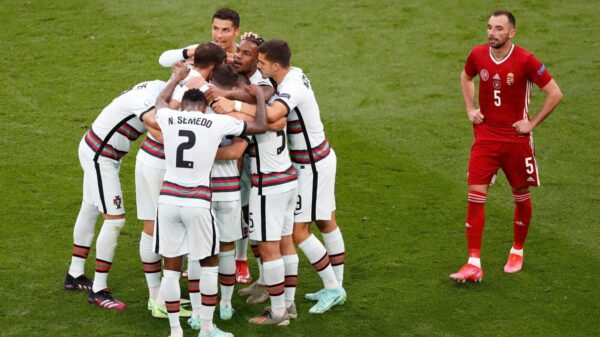 Portugal defeated Hungary in Euro 2020 Group F