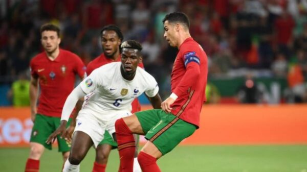 Euro 2020: a draw advanced Portugal and France to knockout stage