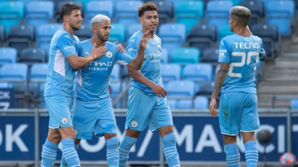 Man City to play in Community Shield with the second team