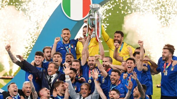 Italy defeated England in penalty shootout