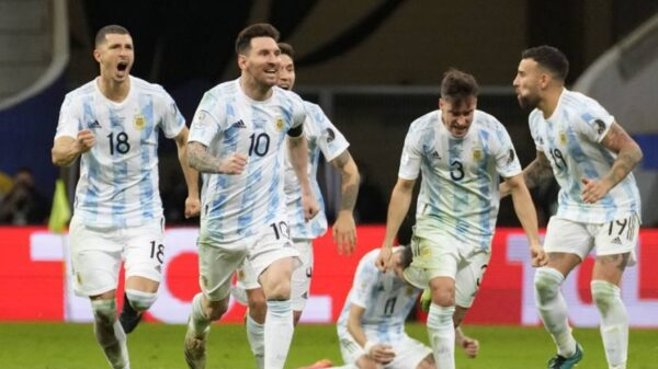 Argentina beat Colombia in Copa America
