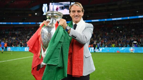 Roberto Mancini earned victory in his Euro debut as coach