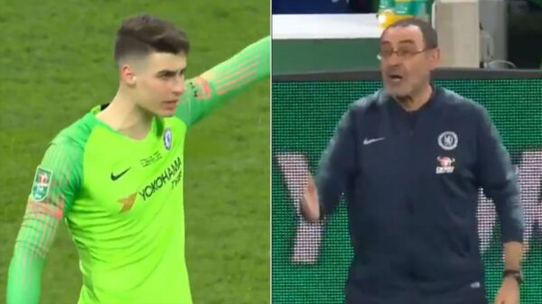 Chelsea goalkeeper Kepa Arrizabalaga has apologized to his former manager Maurizio Sarri over the 2019 Carabao Cup incident