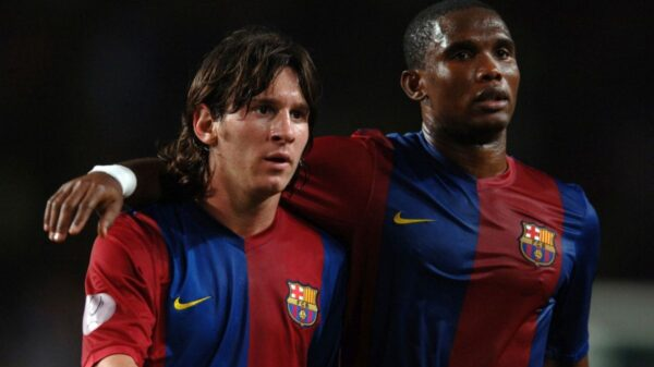 Eto'o slams Lionel Messi question in an interview