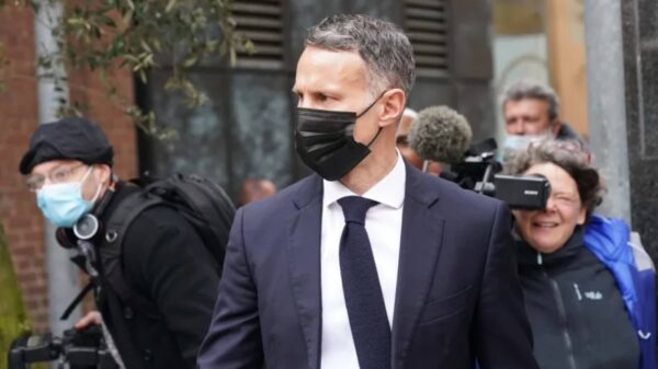 Ryan Giggs pleaded not guilty in Manchester Court for Assult