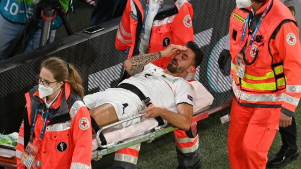 Mancini: Spinazzola injury inspired Italy to win EURO 2020