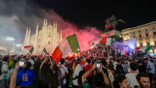 Fans celebration of Italy Euro 2020 win resulted in chaos, 49 arrested