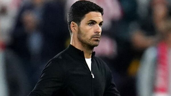 Mikel Arteta on importance of fans despite losing first two games