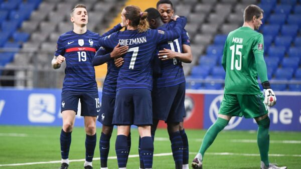 France and Bosnia played draw in World Cup qualifiers