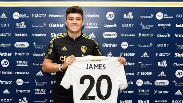 Daniel James signed contract with Leeds United
