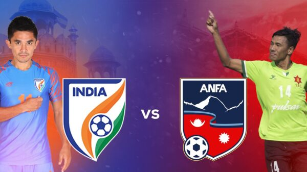 India defeated Nepal in second international friendly