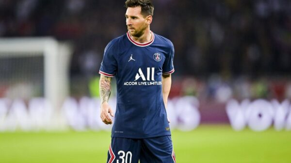 Lionel Messi ruled out from PSG's next match against Montpellier