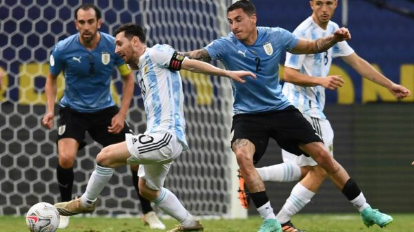 Argentina beat Uruguay in South American World Cup qualifiers
