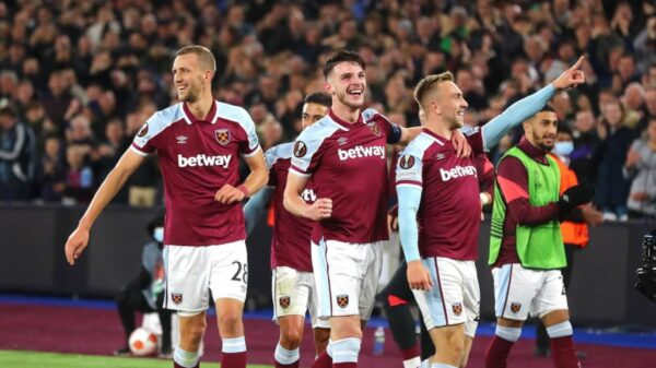West Ham defeated Genk in an easy match