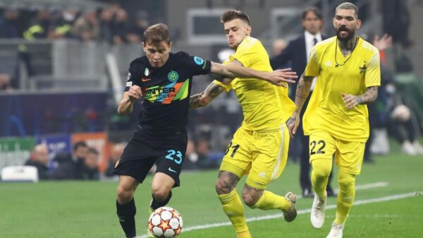 Inter defeated Sheriff Tiraspol to secure first Champions League win
