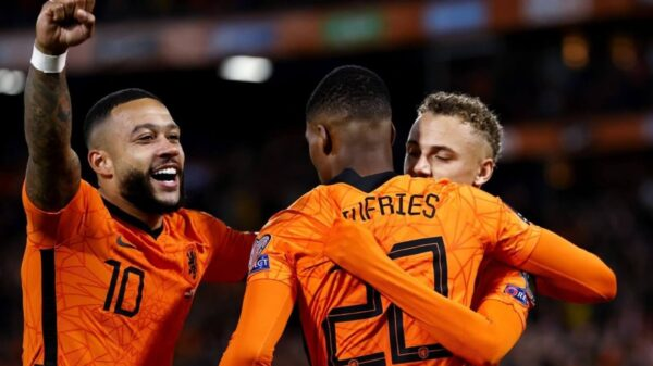 Netherlands defeated Gibraltar as Depay strike double