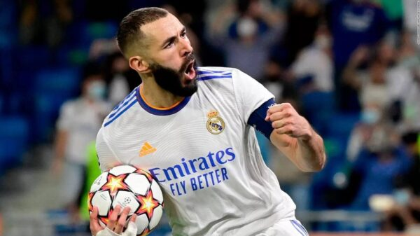 Modric inferred Benzema is favourite to win Ballon d'Or